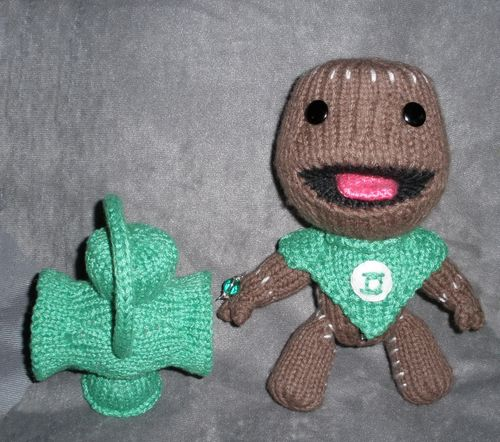 Sackboy GL Peep recharging his ring