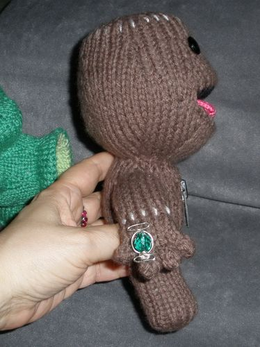 Sackboy Peep from Side