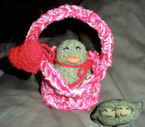Heart Basket & Peter Pickle Peep & 2 Peas in a Pod