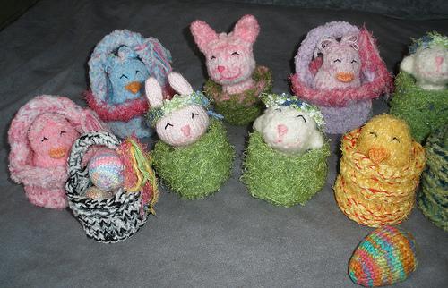 Happy Easter! group shot - left side