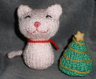 Christmas knittycat for theknittycat