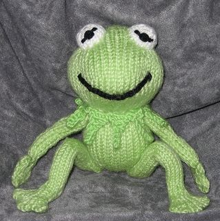 Kermit THE Frog - Kermie 2 for Kristina - with frog legs