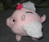 Petunia Phlying Piglet - the flying piggy for Dorothy
