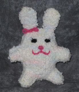 Eggalia, Mia's eggy/bunny for Easter