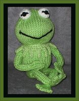 Kermit THE Frog with borders